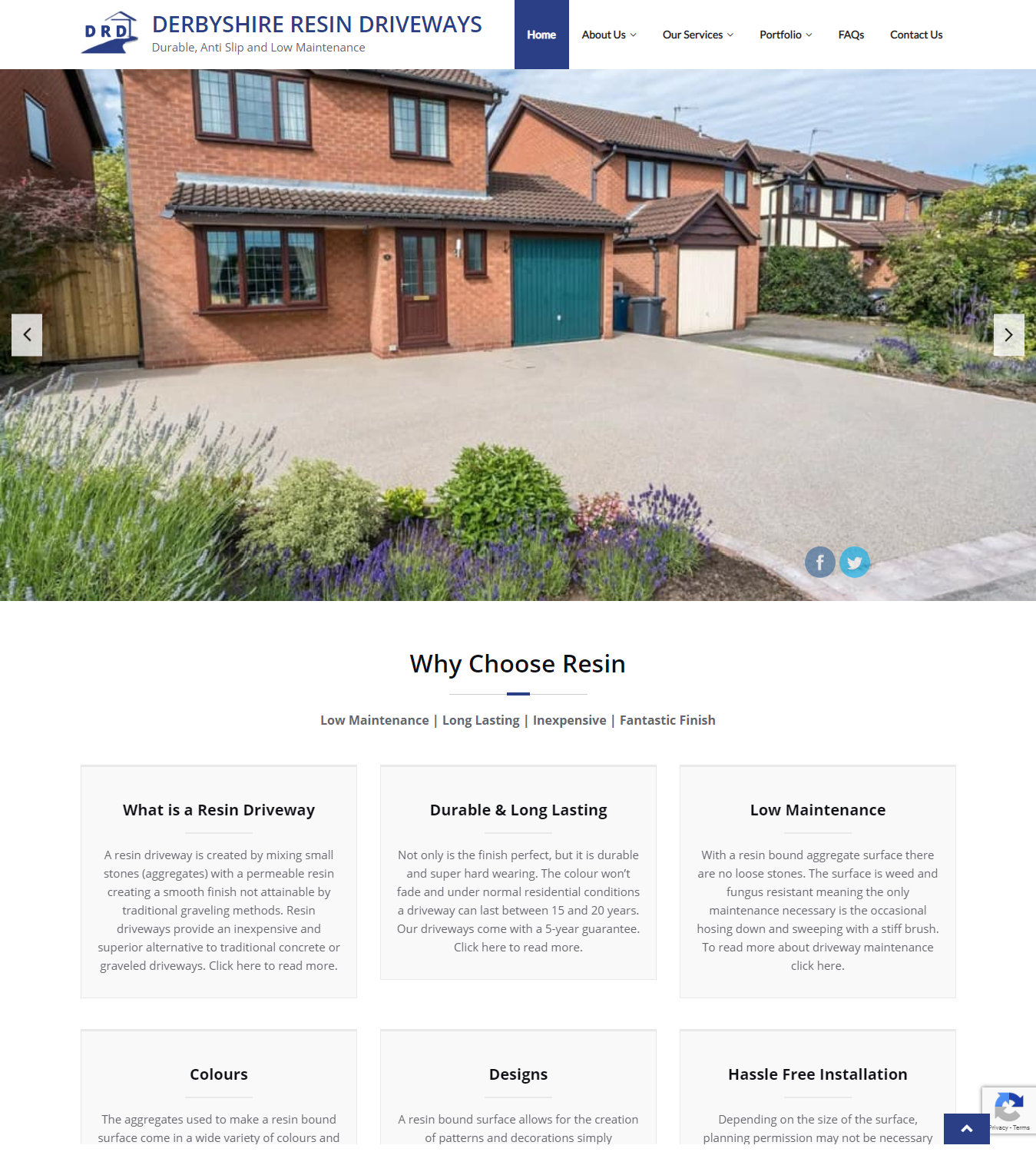 Project Spotlight: Derbyshire Resin Driveways